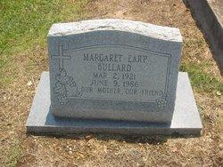Margaret <I>Earp</I> Bullard