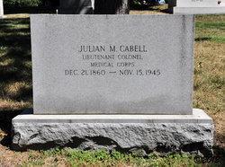 Julian M Cabell