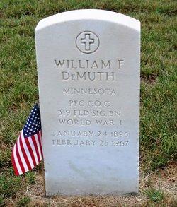 William Francis DeMuth