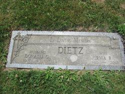 Irma R. <I>Thorn</I> Dietz