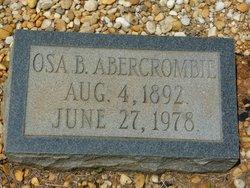 Osa B Abercrombie