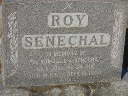 Pvt Romuald E Senechal