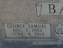 George Samuel Bailey