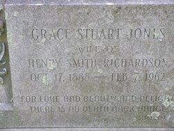 Grace Stuart <I>Jones</I> Richardson