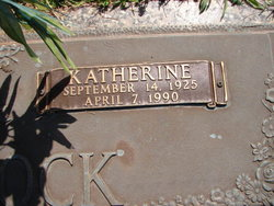 Alva Katherine <I>Allen</I> Glasscock