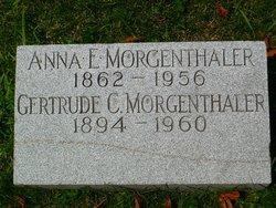 Anna E <I>Frech</I> Morgenthaler