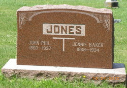 Jennie <I>Baker</I> Jones