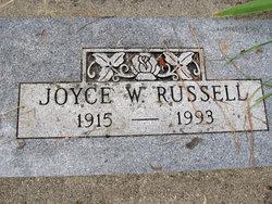 Joyce <I>Woodruff</I> Russell