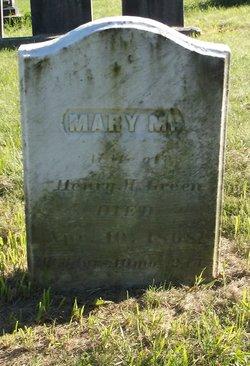 Mary M. <I>Tripp</I> Green