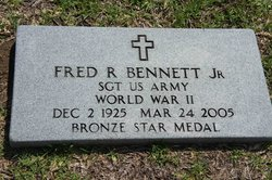 """Fred Roswell """"Buddy"""" Bennett, Jr"""