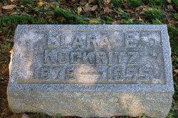 Clara Elizabeth <I>Hartman</I> Kockritz