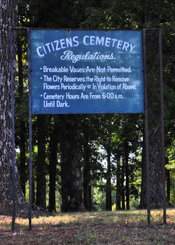 Camp Forrest Cemetery
