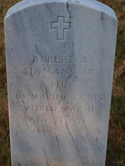 Albert A Sirmans, Jr