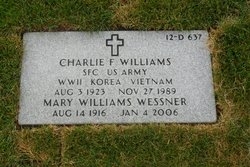 Charlie F Williams