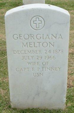 Georgiana <I>Melton</I> Finney
