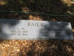 Frank J Baier, Jr