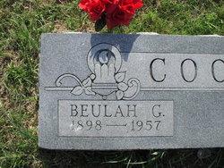 Beulah Grace <I>Madison</I> Cook