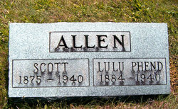 Lulu <I>Phend</I> Allen