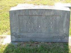 Eunice Mary <I>Simmons</I> Hicks