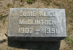 Susie Alice <I>Myers</I> McClintock