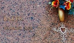 Harriet Ann Baker