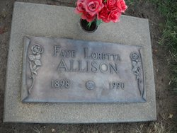 Faye Loretta <I>Young</I> Allison