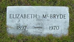 Elizabeth McBryde