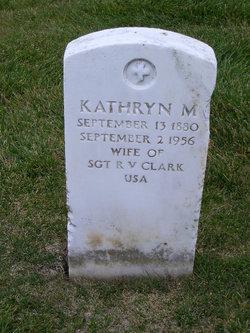 Kathryn M Clark