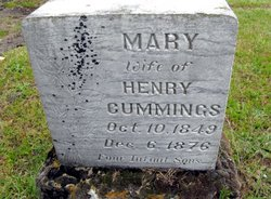 Mary Louisa <I>Bond</I> Cummings