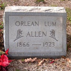 Orlean <I>Lum</I> Allen