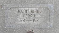 Alvah <I>Ward</I> Perry