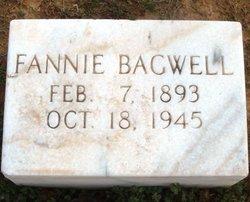Fannie Bagwell