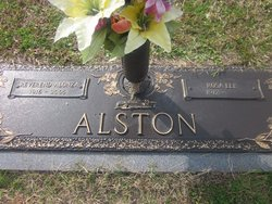 Rev Alonza Alston