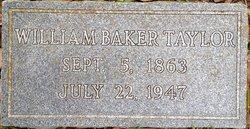 William Baker Taylor Sr.