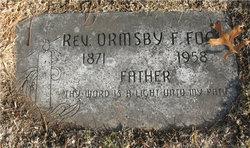 Rev Ormsby F Fogo