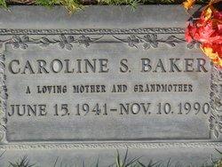 Caroline Sue <I>Fenimore</I> Baker