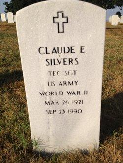 Claude E Silvers