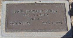 Paul Edward Berry