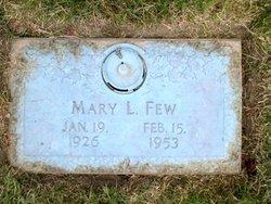 Mary Lucinda <I>Morefield</I> Few