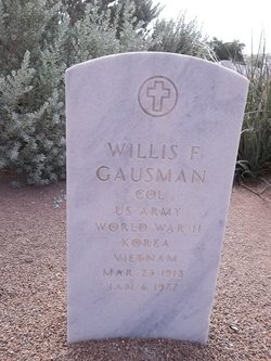 Willis F Gausman