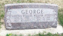 Martha Margaret <I>Weller</I> George