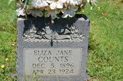 Eliza Jane <I>Sutherland</I> Counts