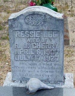 Ressie Lee <I>Sanders</I> Cherry