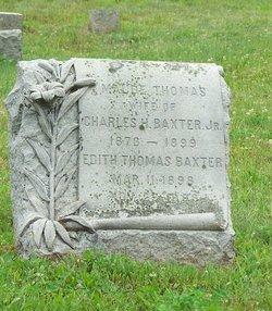 Maude <I>Thomas</I> Baxter