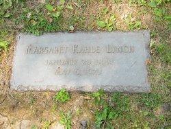 Margaret <I>Kahle</I> Lynch