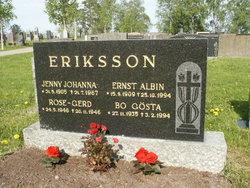 Jenny Johanna <I>Enlund</I> Eriksson