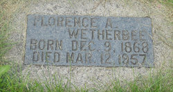 Florence A. <I>Stanley</I> Wetherbee