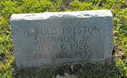 Harold Preston Shannon, Jr