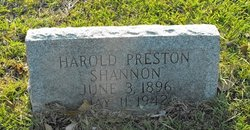 Harold Preston Shannon