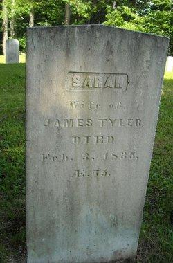 Sarah <I>Gould</I> Tyler